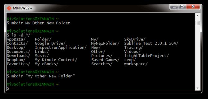 Bash-Create-New-Folder-With-Sapces-Correct