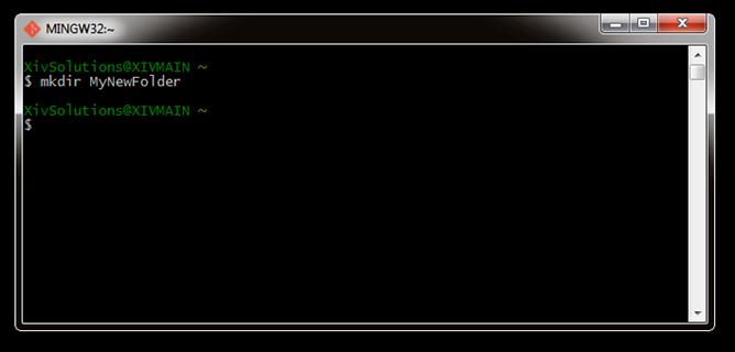 Bash-Create-New-Folder