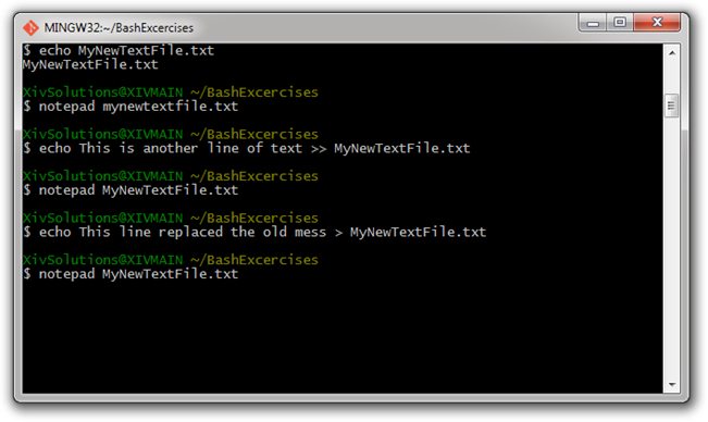 how to use git command line windows