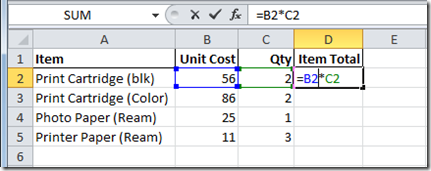 Sales Order Create Formula