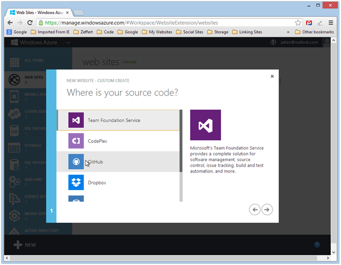azure-where-is-your-code-dialog