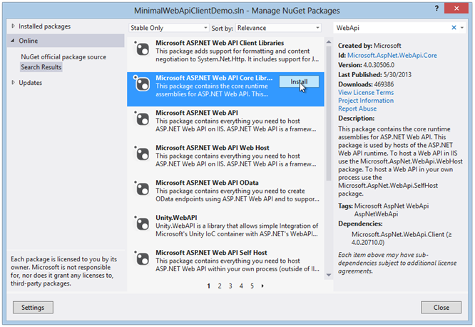 client-demo-install-webapi-core