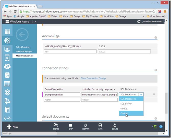 configure-azure-settings-values