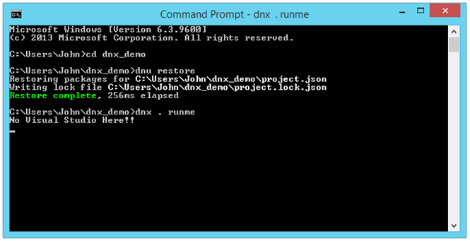 dnx-run-example-using-command