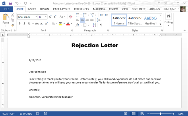 docx-rejection-letter-sample