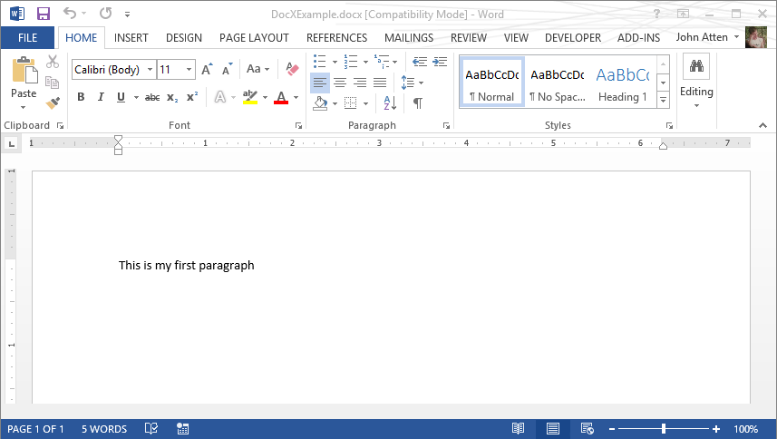C#: Create and Manipulate Word Documents Programmatically Using DocX