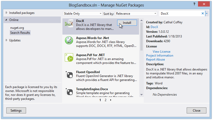 get-docx-from-nuget