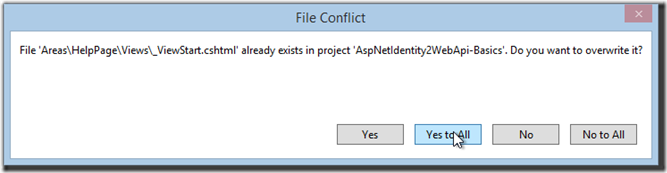 nuget-file-conflict-yes-to-all