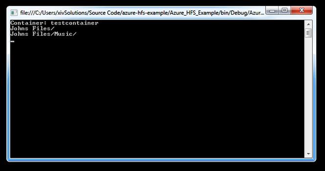 output-printCloudDirectories-method