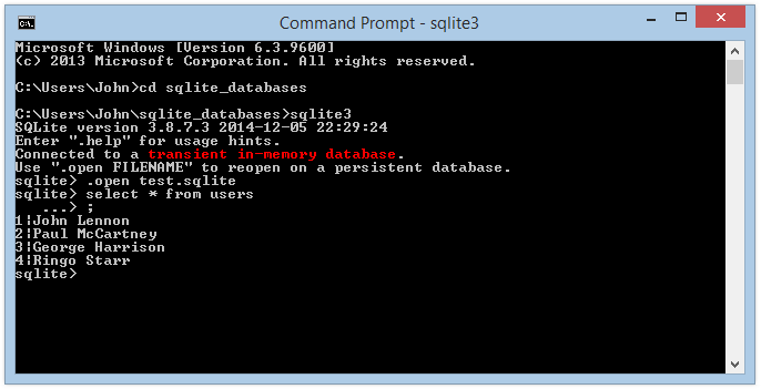 sqlite3.dll pour windows 7