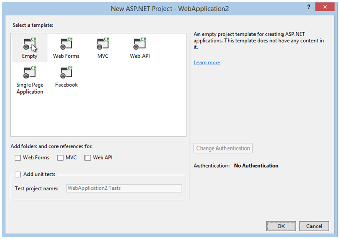 select-empty-asp-net-project-template