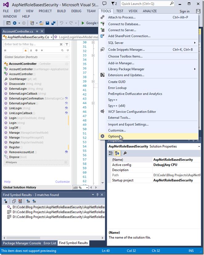 vs-tools-options-menu