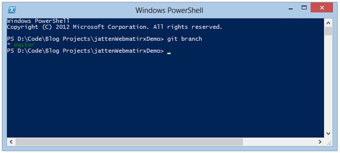 webmatrix-git-powershell-window